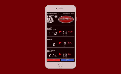 Friction Loss App