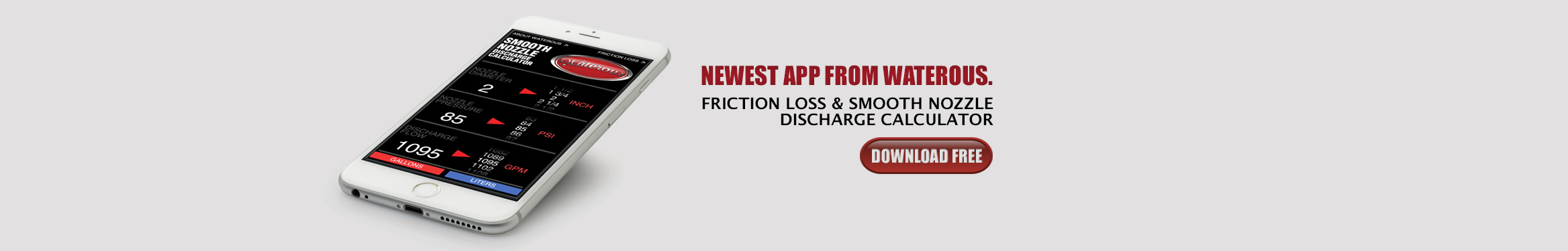 Friction Loss Smooth Nozzle Discharge App