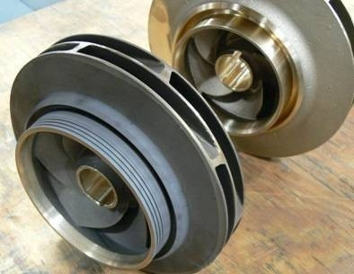 Flame-plated Impellers